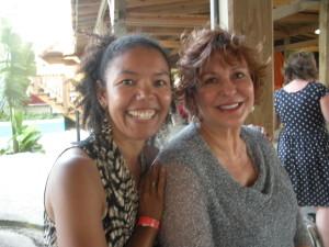 with Jackie Mitchard